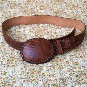 Accessories - Vintage Genuine Lizard Belt